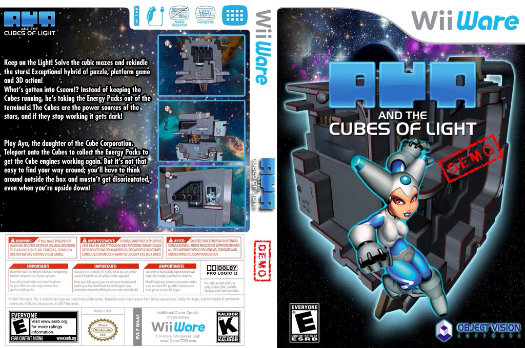 Aya and the Cubes of Light Demo Wii coverfullHQ (XJEE)