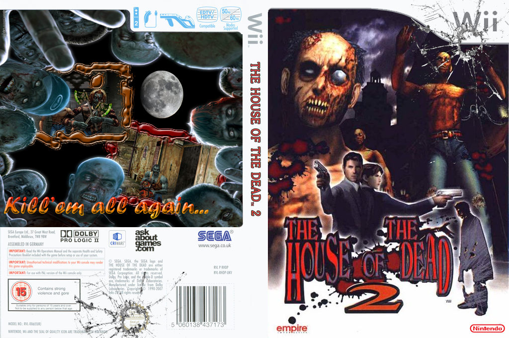 The House of the Dead 2 Wii coverfullHQ (RHD222)