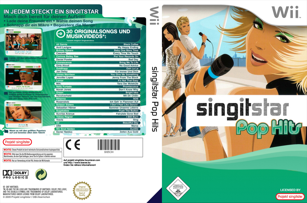SingItStar Pop Hits Wii coverfullHQ (SIS5OH)