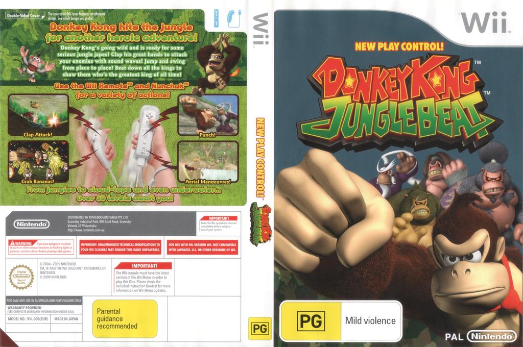 Donkey Kong: Jungle Beat Wii coverfullHQ2 (R49P01)