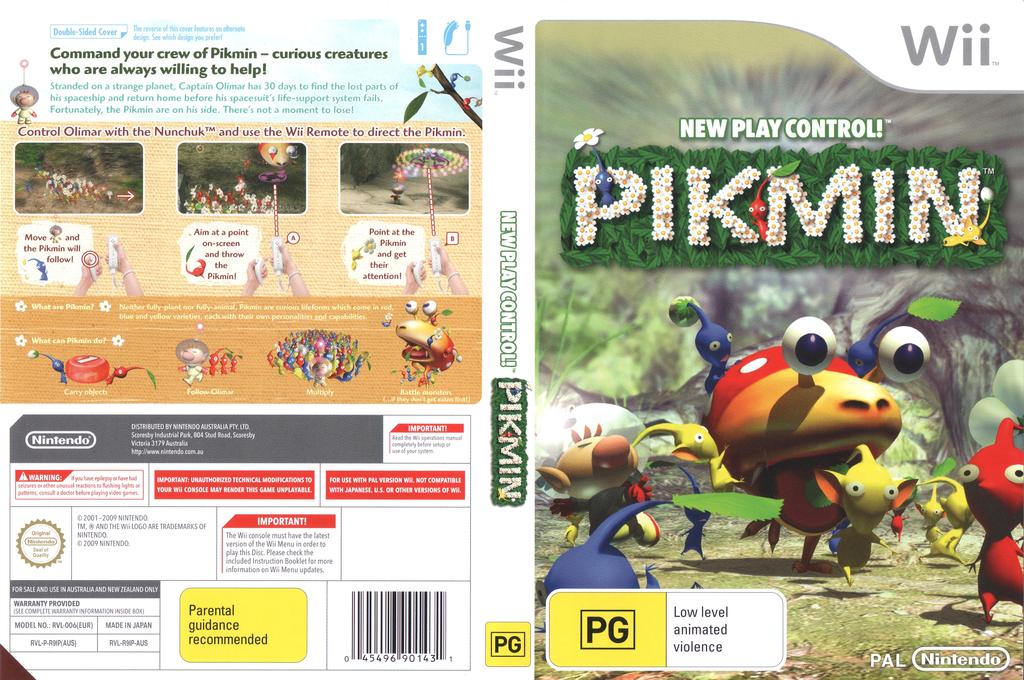 Pikmin Wii coverfullHQ2 (R9IP01)