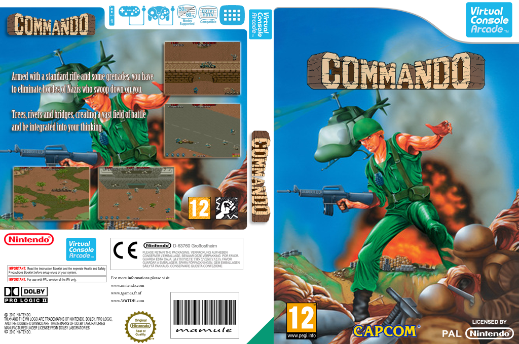 Commando Wii coverfullHQ2 (E55P)