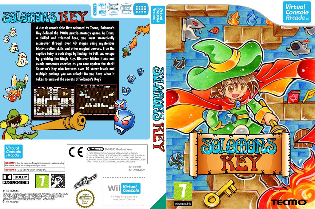 Solomon's Key Wii coverfullHQ2 (E6NP)