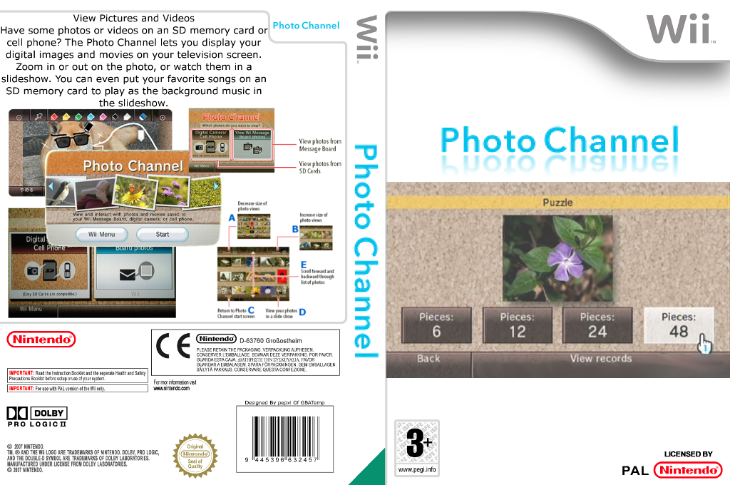 Photo Channel Wii coverfullHQ2 (HAAA)