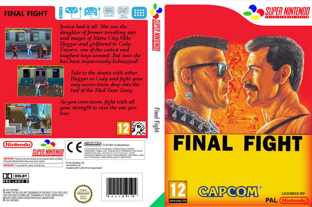 Final Fight Wii coverfullHQ2 (JA8P)