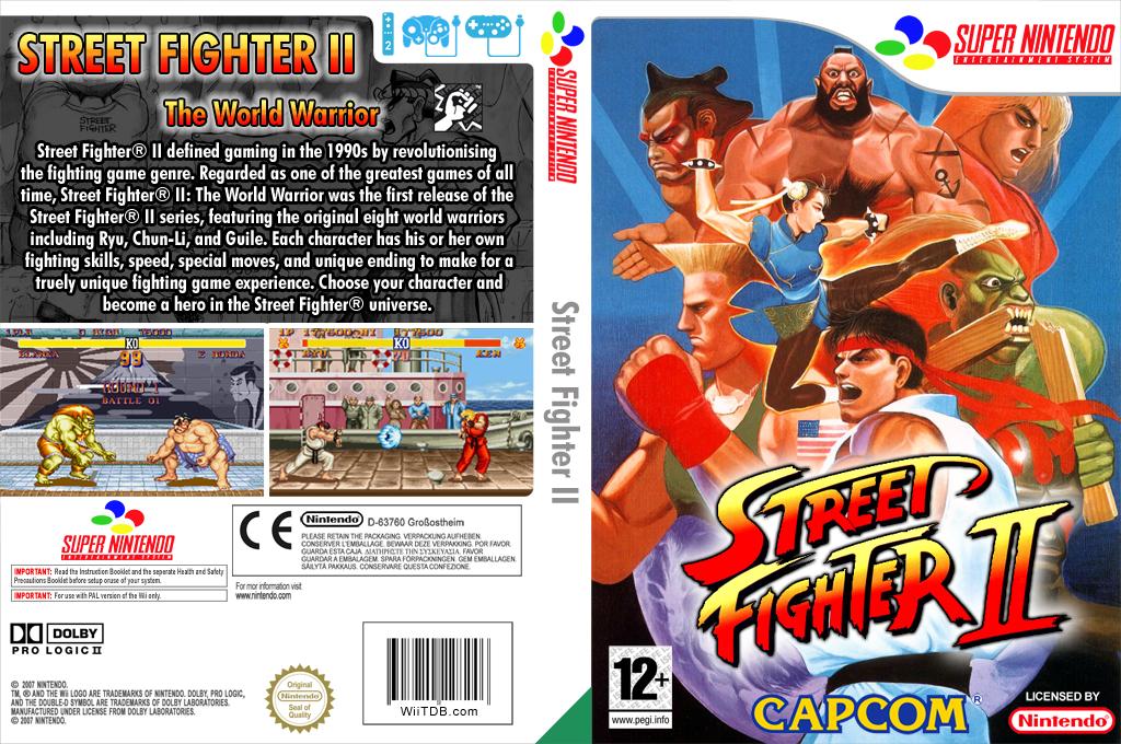 Street Fighter II: The World Warrior Wii coverfullHQ2 (JAJP)