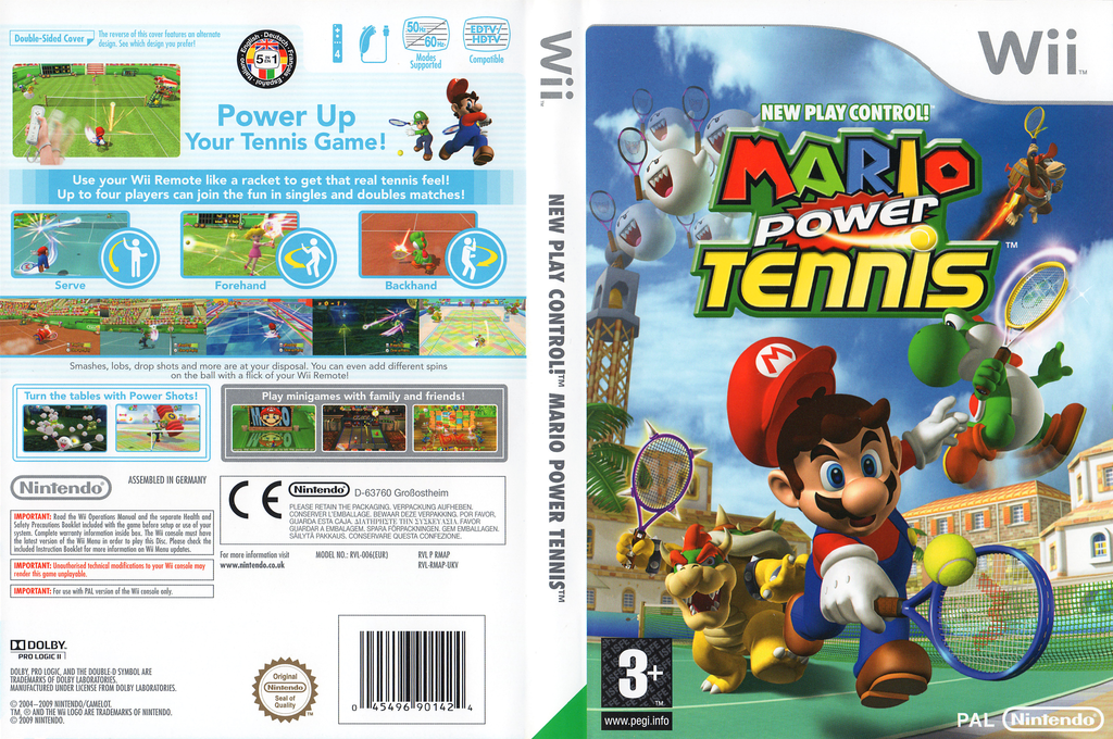 Mario Power Tennis Wii coverfullHQ2 (RMAP01)
