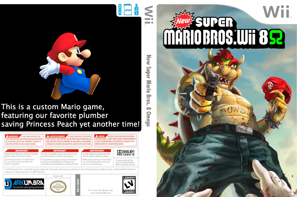 Seop01 New Super Mario Bros Wii 8 Omega