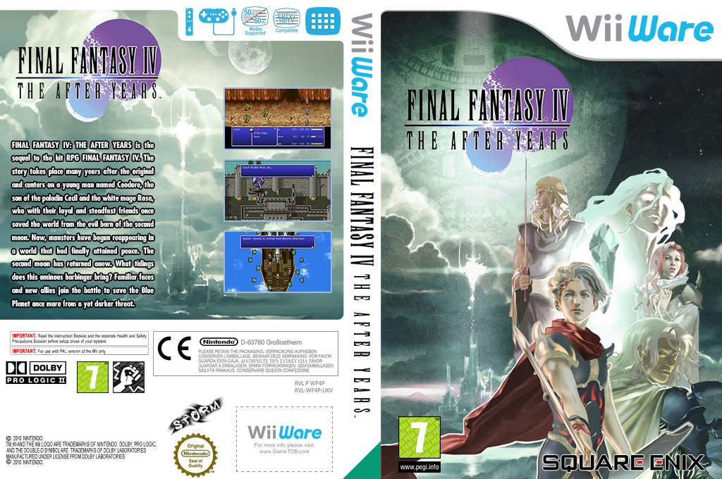 Final Fantasy IV: The After Years Wii coverfullHQ2 (WF4P)