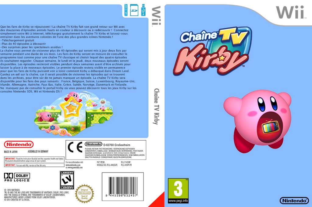 Chaîne Kirby TV Wii coverfullHQ2 (HCMP)