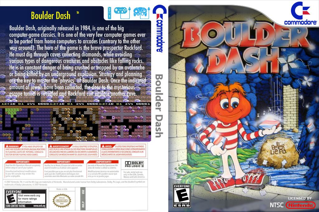 Boulder Dash Wii coverfullHQ2 (C9HE)