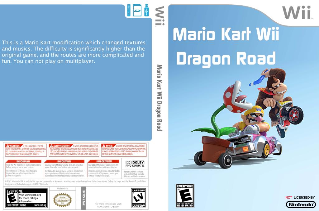 Mario Kart Wii Dragon Road Wii coverfullHQ2 (CMKE01)