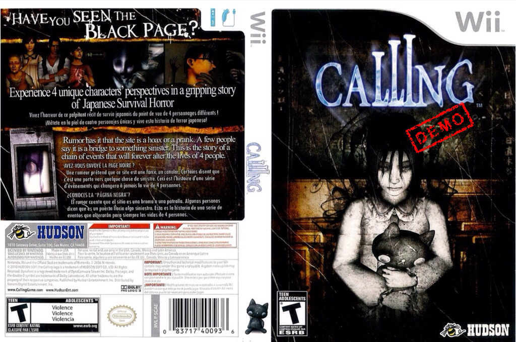 Calling (Demo) Wii coverfullHQ2 (DCAE18)