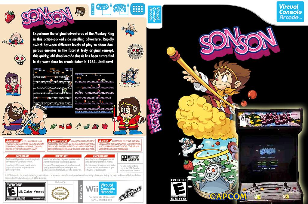 SonSon Wii coverfullHQ2 (E57E)