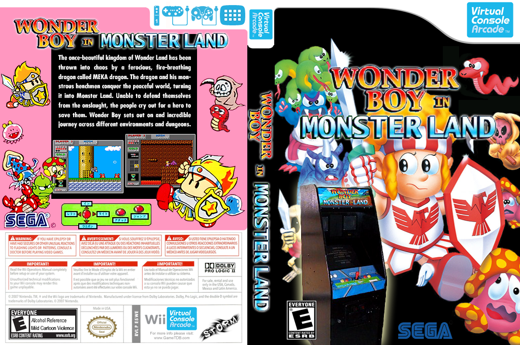 Wonder Boy in Monster Land Wii coverfullHQ2 (E5WE)