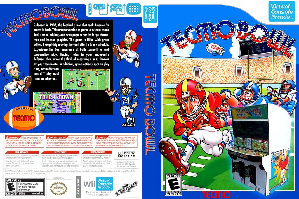 Tecmo Bowl Wii coverfullHQ2 (E6ME)