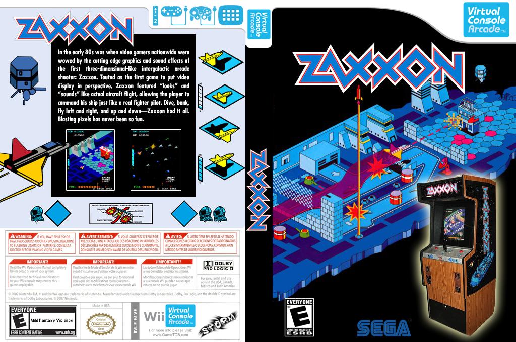Zaxxon 3-D Wii coverfullHQ2 (E6VE)
