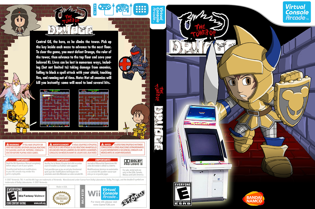 The Tower of Druaga Wii coverfullHQ2 (E7ZE)
