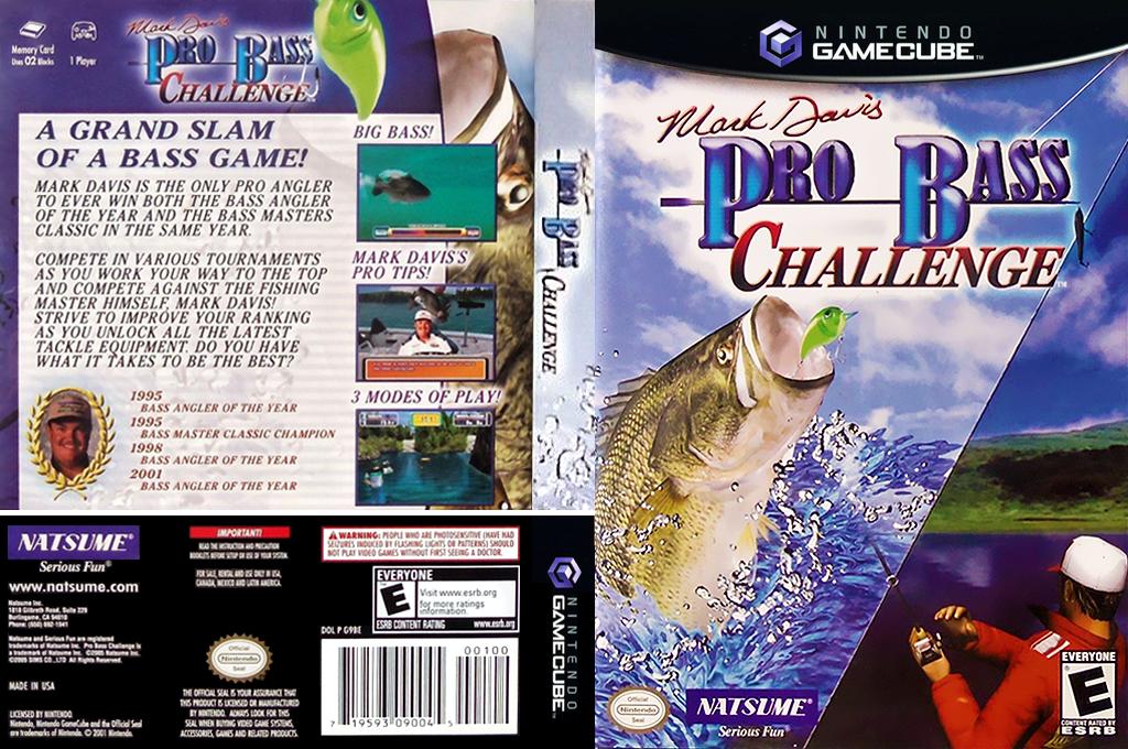 Mark Davis Pro Bass Challenge Wii coverfullHQ2 (G9BEE9)