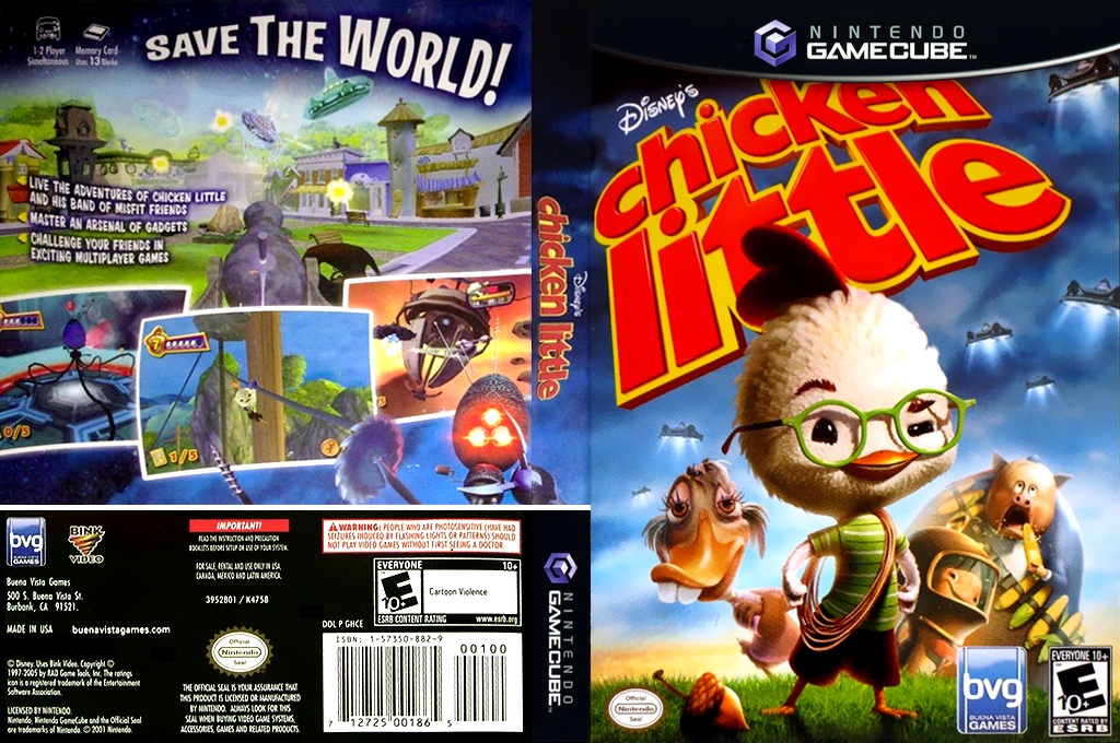 Chicken Little Wii coverfullHQ2 (GHCE4Q)