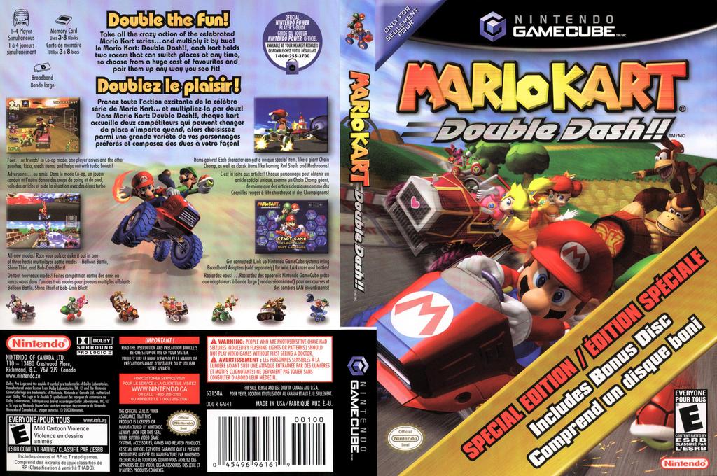 Mario Kart: Double Dash!! Wii coverfullHQ2 (GM4E01)