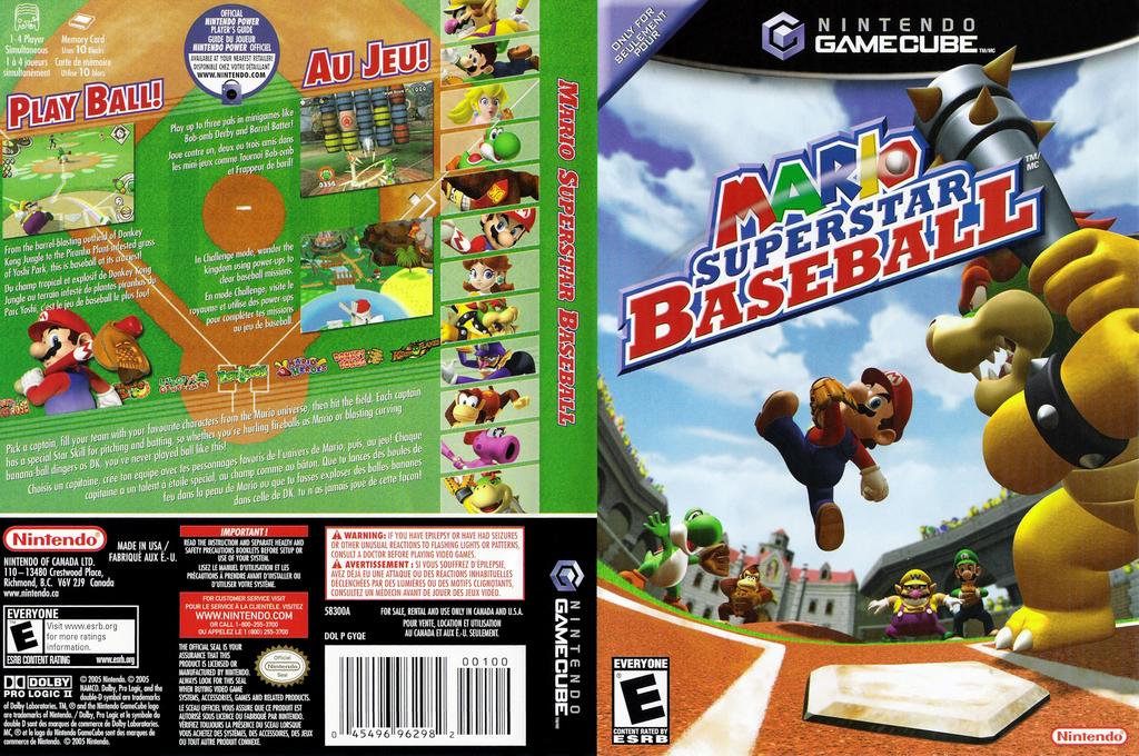 Mario Superstar Baseball Array coverfullHQ2 (GYQE01)