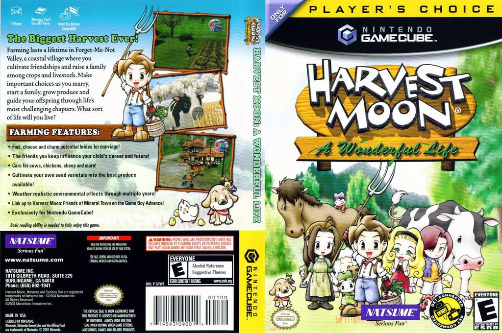 Harvest Moon: A Wonderful Life Wii coverfullHQ2 (GYWEE9)