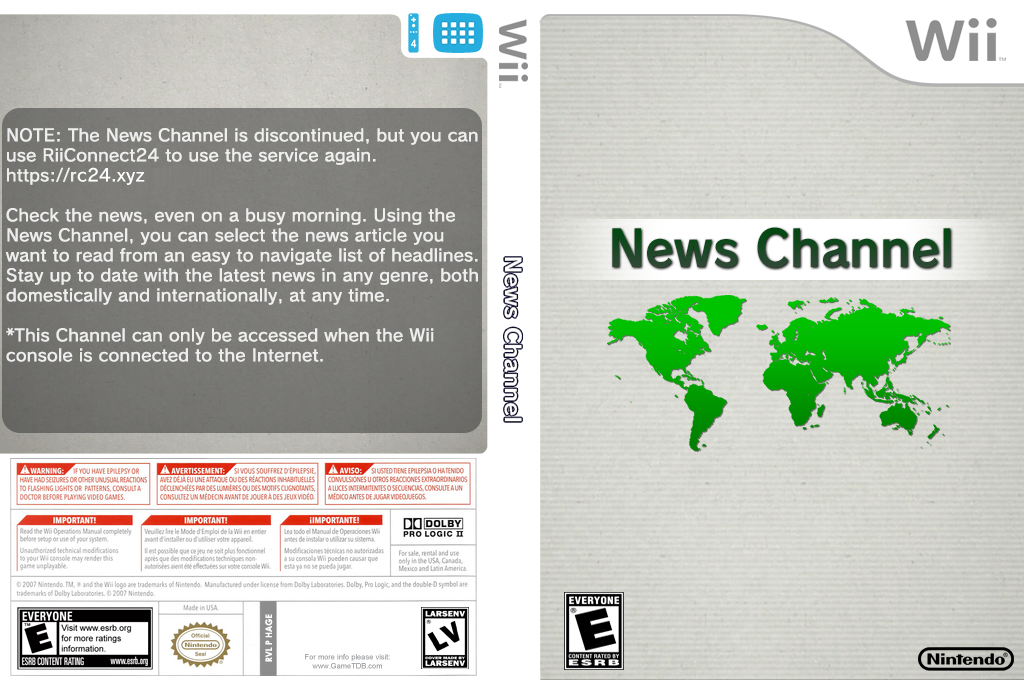 News Channel Wii coverfullHQ2 (HAGE)