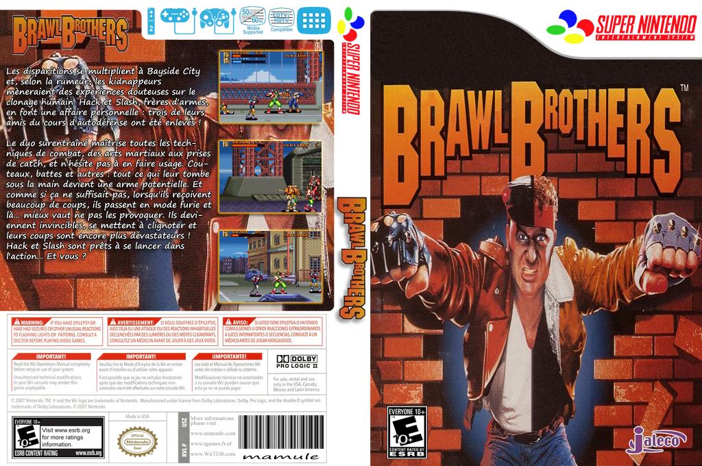 Brawl Brothers Wii coverfullHQ2 (JD5E)