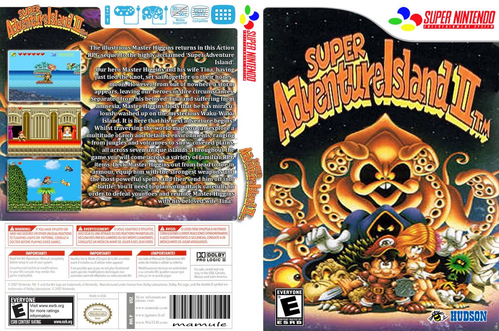 Super Adventure Island II Wii coverfullHQ2 (JD8E)