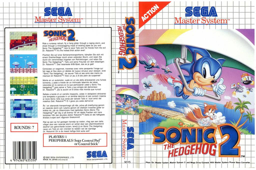 Sonic the Hedgehog 2 Array coverfullHQ2 (LAJE)