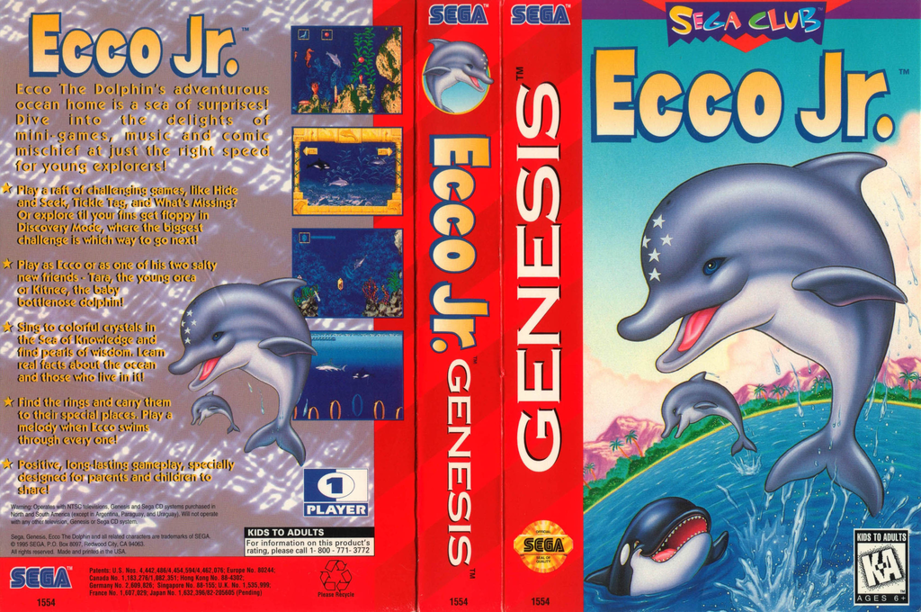 Ecco Jr. Wii coverfullHQ2 (MBXE)