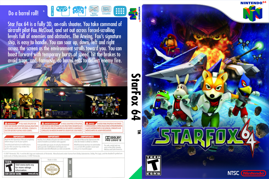 Star Fox 64 Array coverfullHQ2 (NADE)