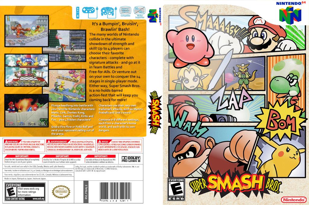 Super Smash Bros. Wii coverfullHQ2 (NALE)