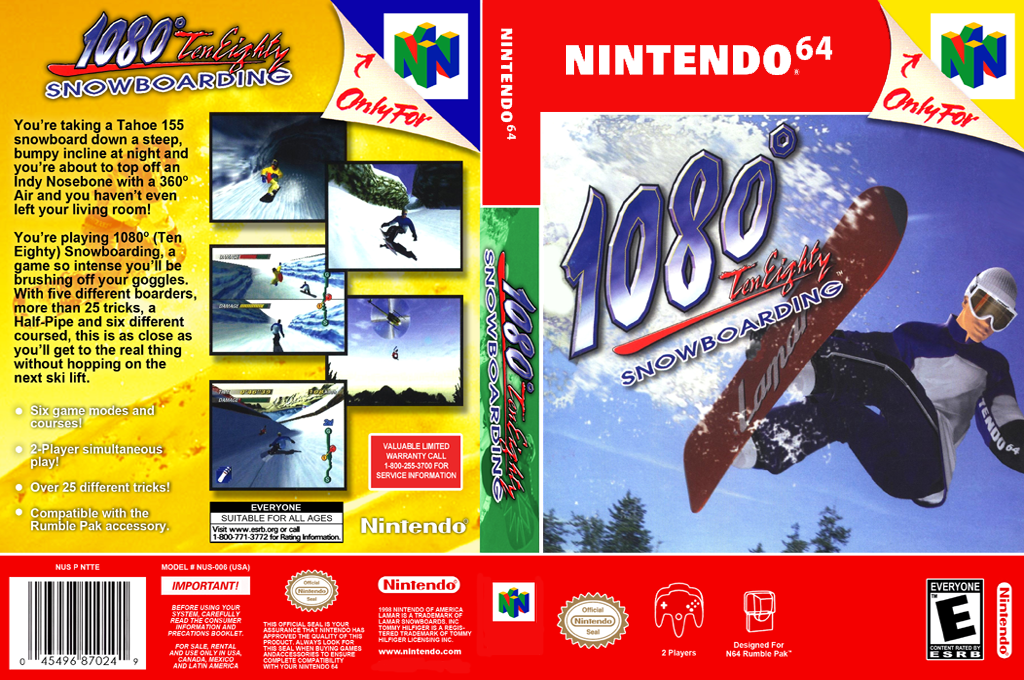 1080° Snowboarding Wii coverfullHQ2 (NAOE)