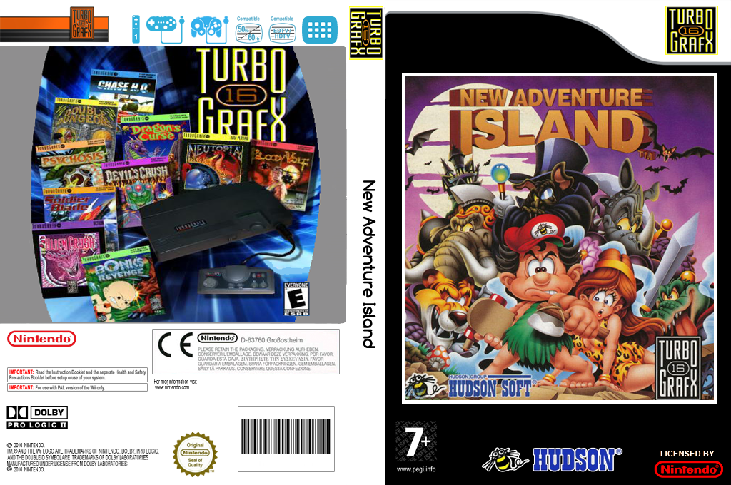 New Adventure Island Wii coverfullHQ2 (PAIE)