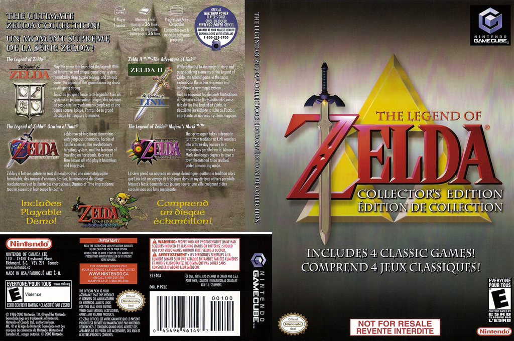 The Legend of Zelda: Collector's Edition Wii coverfullHQ2 (PZLE01)