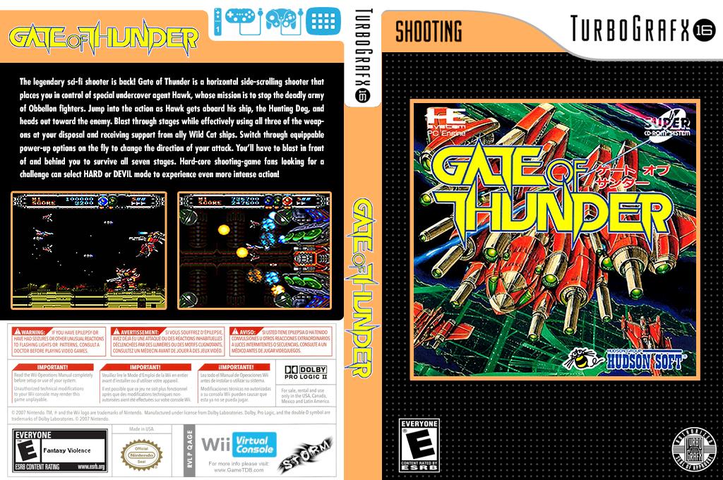 Gate of Thunder Wii coverfullHQ2 (QAGE)
