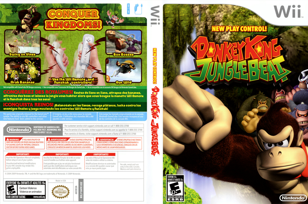 Donkey Kong Jungle Beat Wii coverfullHQ2 (R49E01)
