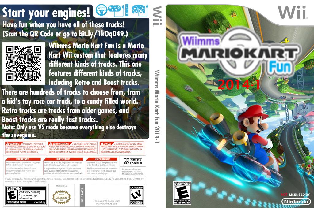 Wiimms MKW Fun 2014-01.ntsc Wii coverfullHQ2 (RMCE23)