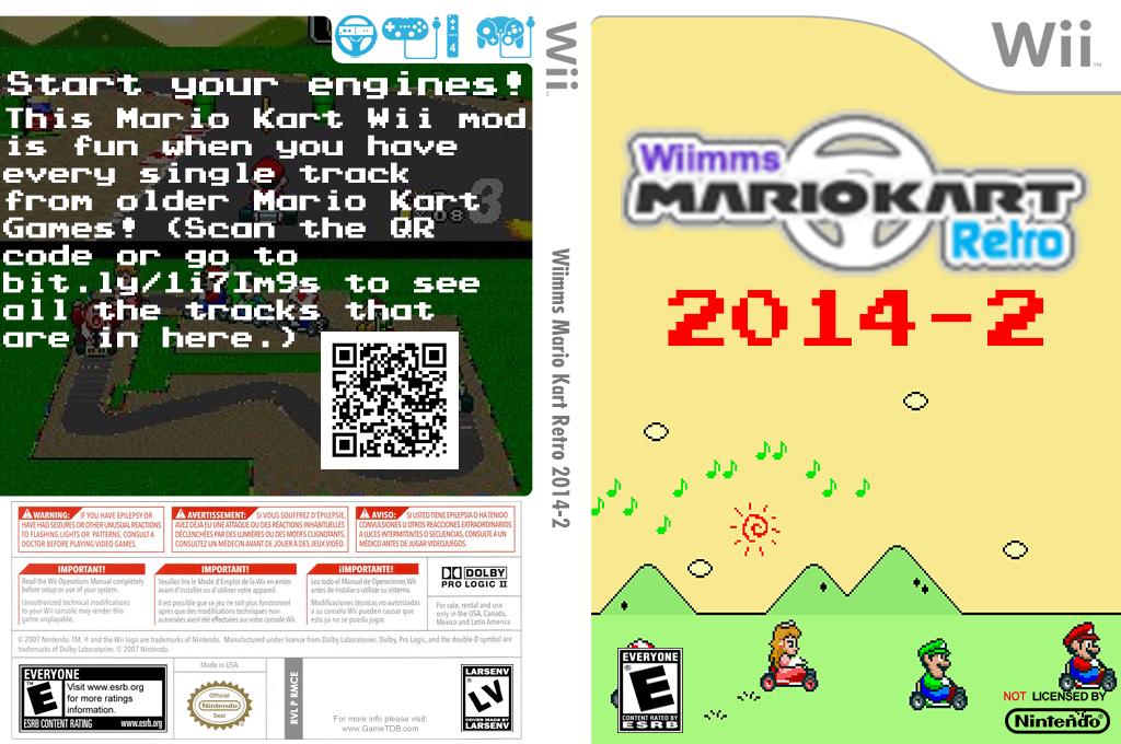 Wiimms MKW Retro 2014-02.ntsc Wii coverfullHQ2 (RMCE24)