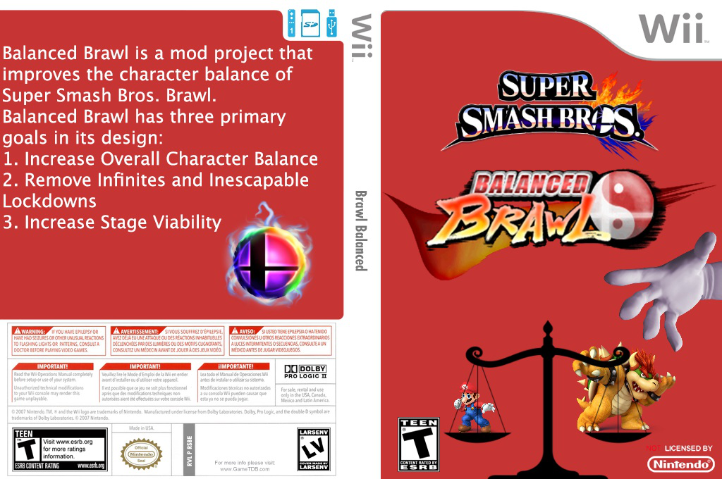 Super Smash Bros. Balanced Brawl Wii coverfullHQ2 (RSBEBB)