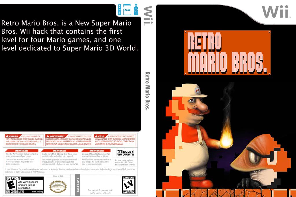 Retro Mario Bros. Wii coverfullHQ2 (SMNERE)