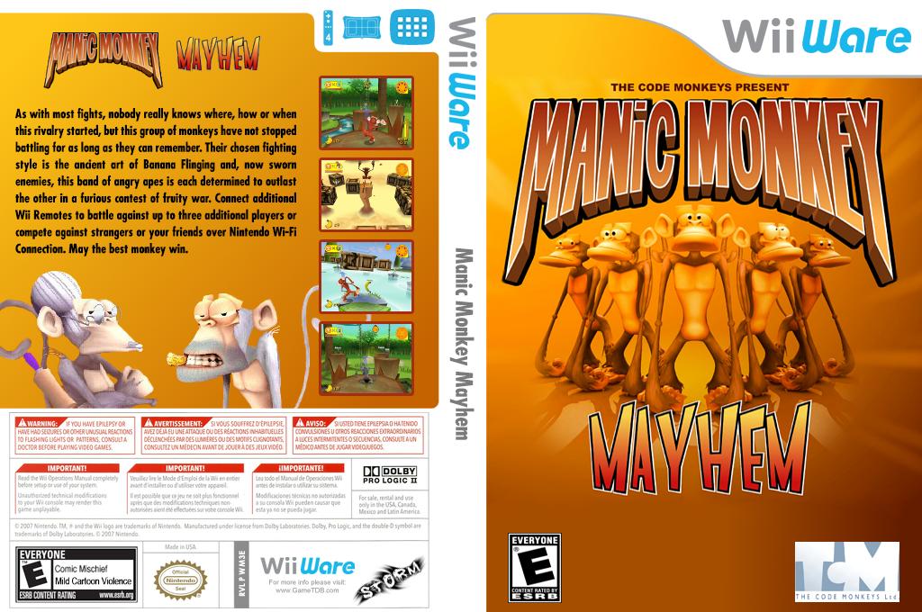 Manic Monkey Mayhem Wii coverfullHQ2 (WM3E)