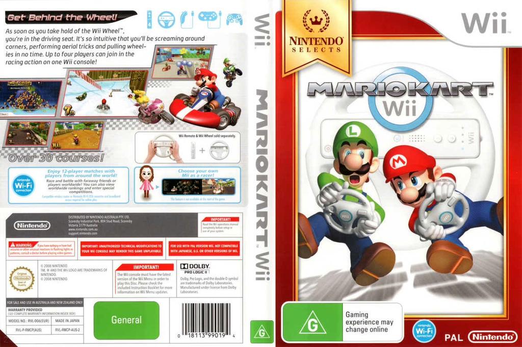 Mario Kart Wii Wii coverfullHQB (RMCP01)