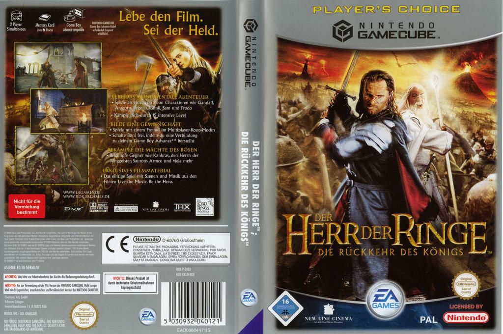 Der Herr der Ringe: Die Rückkehr des Königs Wii coverfullHQB (GKLD69)