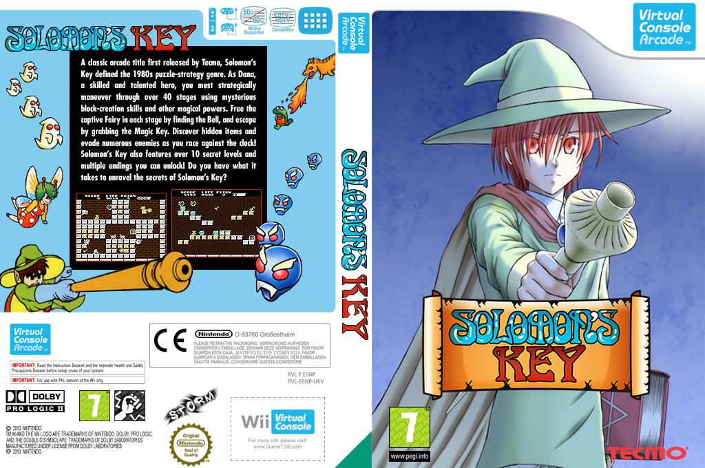Solomon's Key Wii coverfullHQB (E6NP)