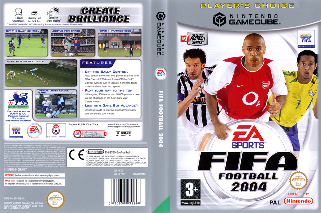 FIFA Football 2004 Wii coverfullHQB (GXFP69)