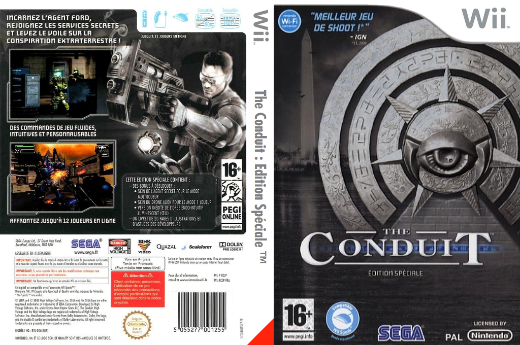 The Conduit Wii coverfullHQB (RCJP8P)