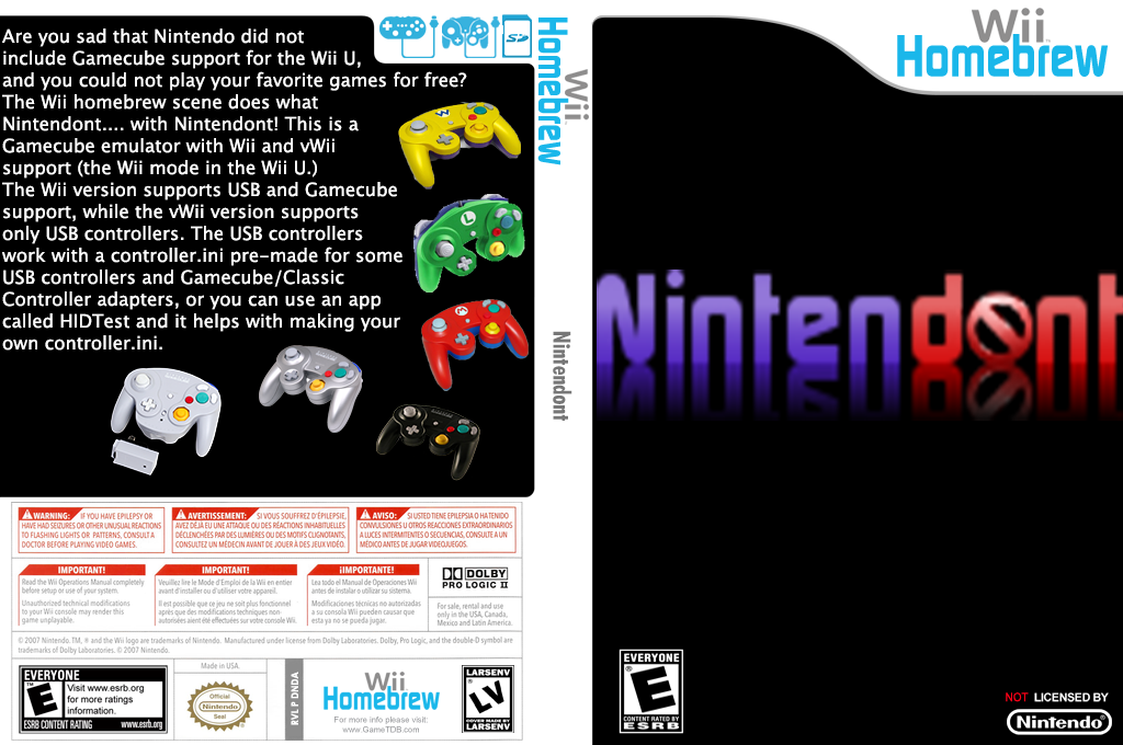 Nintendont Wii coverfullHQB (DNDA)